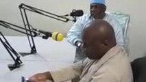 Cheick Modibo et Moussa Mara - En émission à la Radio Voix des Jeunes de Kayes