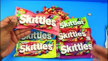 Skittles Candy Packs - Original Desserts Sours Wild Berry Tropical Orchards Sweets & Sours