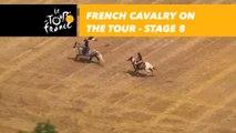 La cavalerie française sur le Tour / French cavalry on the Tour - Étape 8 / Stage 8 - Tour de France 2018