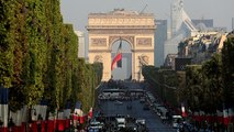 Erhöhte Sicherheitsvorkehrungen am französischen Nationalfeiertag