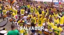 A festa da torcida braisleira nas principais capitais do Brasil na vitória diante da Costa Rica 22 0