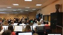 Répétitions de l'orchestre d'harmonie du festival «Musique en Pays de Falaise»