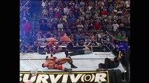 World Heavyweight Champion Goldberg vs. Triple H - Survivor Series 2003 - WWE Wrestling Fight Fighting Match Sports