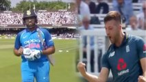 India Vs England 2nd ODI: Rohit Sharma out for 15 by Mark Wood | वनइंडिया हिंदी