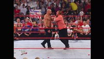 Goldberg takes out Triple H - Raw, Sept. 15, 2003 - WWE Wrestling Fight Fighting Match Sports