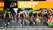 Resumen - Etapa 8 - Tour de France 2018