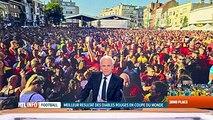 Mondial 2018, Belgique-Angleterre: les supporters au rendez-vous