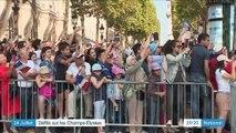 14-juillet : le défilé sur les Champs-Élysées sous le signe de la fraternité
