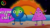 Planet Song | Learn Planets And Shapes | Shapes Songs For Kids | Learn Shapes With Planets