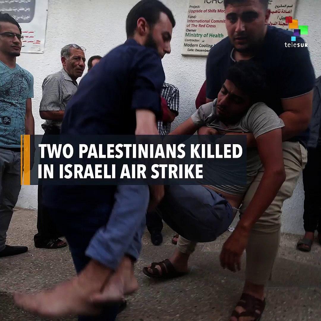 Two Palestinians Killed In Israeli Air Strike