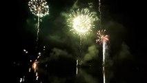 VIDÉO. Pyrotechnie sur le lac de Gérardmer