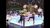 Riki Choshu/Takayuki Iizuka/Shinya Hashimoto vs Masa Chono/Hiro Saito/Hiroyoshi Tenzan (New Japan April 8th, 1995)