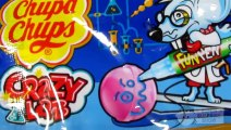 CHUPA CHUPS Crazy Lab FUN PEN Paint on Lollipop Create Candy Art – 3S