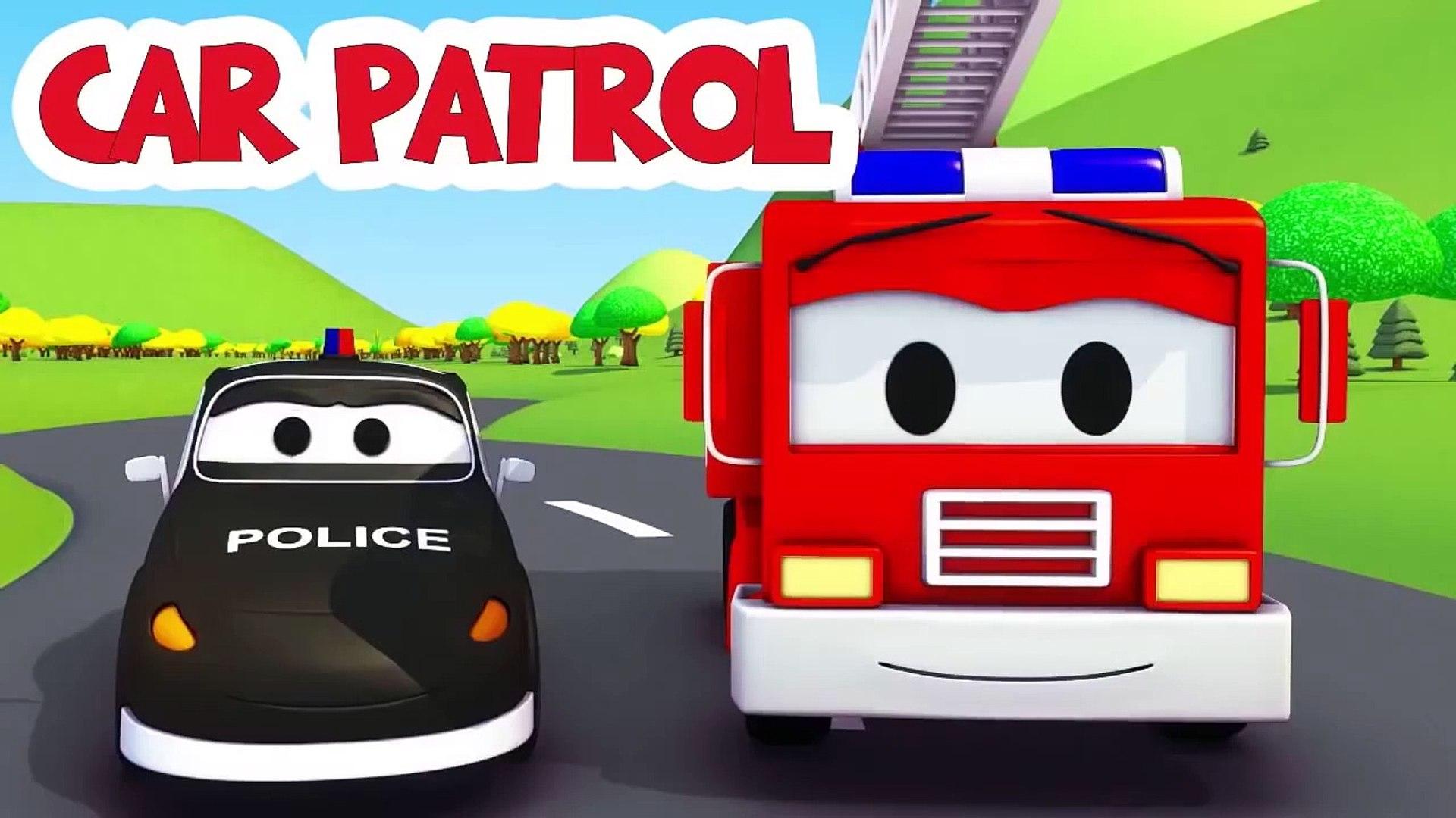 La Super Patrouille Camion Pompier Et Voiture De Police Et La