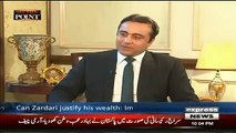 Mansoor Ali Khan Praises Imran Khan During interview of Hamza Shahbaz