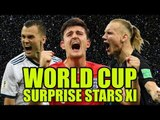 World Cup Surprise Stars XI; Including THREE England Heroes