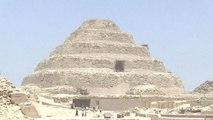 Égypte : découverte d'une chambre funéraire à Gizeh - 15/07/2018