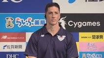 Fernando Torres es presentado en Tokio por el Sagan Tosu de la liga nipona