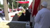 15 Temmuz Şehitleri, Edirnekapı'daki Mezarları Başında Anıldı - İstanbul