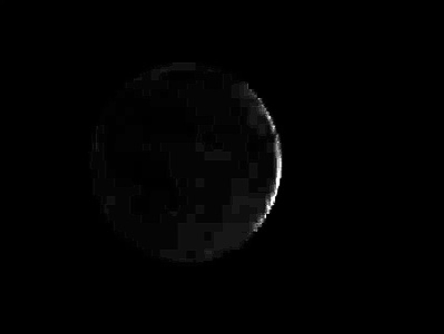 Moon phase, stock video free to use. No moon to Full moon animation.