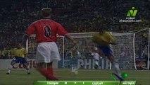 الشوط الثاني مباراة البرازيل و هولندا 1-1 نصف نهائي كاس العالم 1998