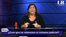 ROSA M. PALACIOS NO LOS VAN A SACAR LOS MANDARON DE VACACIONES. AUDIOS CORRUPCION JUECES SEÑORA K