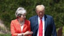 Trump Told British Prime Minister May To Sue European Union