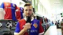 """""""Ich will in Basel Titel gewinnen!"""" Das sind Silvan Widmers erste Worte als FCB-Spieler!♥️ Beschreibe den Transfer von Silvan mit einem Emoji und gewinne"""