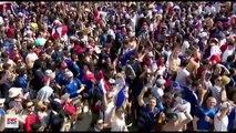Paris : La fan zone du Champ de Mars filmée du dessus, frissons garantis