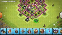 Clash Of Clans - TOP 3 TH7 TROPHY BASE 2016 (JUNE) + REPLAY