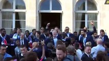 Pogba starts the N'Golo Kanté chant