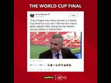 How Twitter reacted to France winning an amazing #WorldCupFinal!