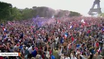 Trump Congratulates France On World Cup Victory And Putin On Hosting The Tournament