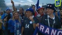 """Le coin des supporters - """"Merci aux joueurs, merci à Deschamps, merci à la France"""""""