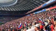 """los Rusos cantan su Himno en estadio de """"Luzhniki"""" de Moscú ⚽ Rusia - España ⚽ Mundial 2018 Rusia"""
