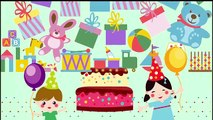 HAPPY BIRTHDAY TO YOU - Happy Birthday Song - Kids Baby Party