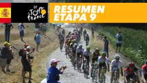 Resumen - Etapa 9 - Tour de France 2018