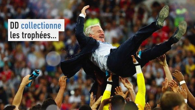 Didier Deschamps, le collectionneur - Foot - CM 2018 - Bleus