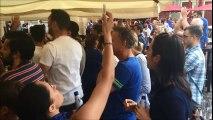 La liesse après la victoire des Bleus en coupe du monde dans les rues de  Metz
