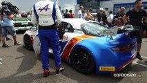 Alpine GT4 à Dijon Prenois : l'autre match en bleu