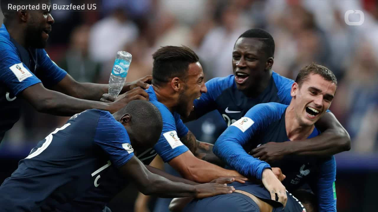 France Wins The FIFA World Cup