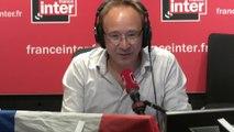 Yoann Riou et Franck Ballanger au micro de Frédéric Métézeau