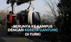 Serunya ke Kampus dengan Kereta Gantung di Turki