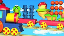 Learn Colors With Bob The Train | Crayons Color Song | Crayons Colors | Crayons Song | Kids Tv
