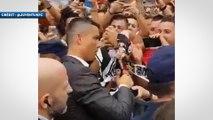 Juventus : premier bain de foule pour Cristiano Ronaldo