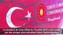 La Turquie commémore le putsch raté, Erdogan reste ferme