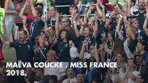 PHOTOS. Coupe du monde 2018 : Iris Mittenaere, Maëva Coucke, Alicia Aylies, supportrices acharnées des Bleus pendant la finale