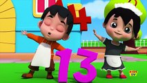 the numbers song | counting song | 123 nursery rhymes | learn numbers | 3d rhymes | kids tv