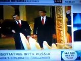 MAJOR SLAP IN OBAMA's FACE! Russians Refuse to Shake Obamas Hand