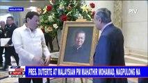 #SentroBalita: Pangulong #Duterte at Malaysian PM Mahathir Mohamad, nagpulong na
